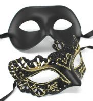 Black and Gold  Quality Masks